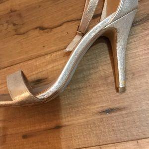 Beautiful mix no.6 champagne heels Size 9!